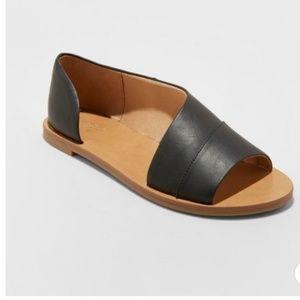 Women's Lissa Asymmetrical Slide Sandals